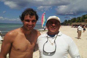 Rafael Nadal in Cozumel