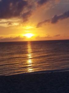 Cozumel Sunset - Photo Courtesy of Sandy Van Horn