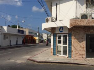 The meeting place is at the corner of Calle 2 Nte and 15 Av. Nte.