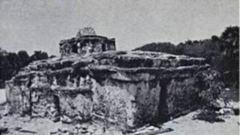 The Caracol Ruins at Punta Sur