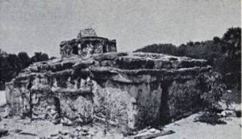 The Caracol Ruins at Punta Sur