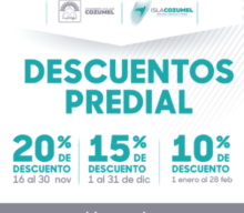 Discounts  Annual Payments Predial Property Taxes