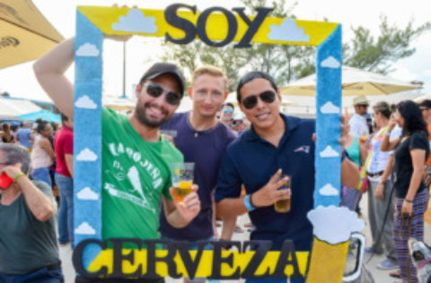 """""""Soy Cerveza"""" Craft Beer Festival Cozumel"""