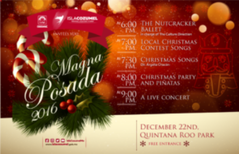 Cozumel Hosts MAGNA Posada December 22nd