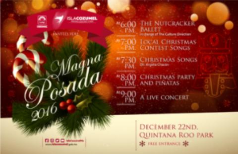 Cozumel Hosts MAGNA Posada December 22nd