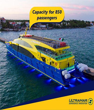Comienzan a operar las primeras embarcaciones nuevas de Ultramar.