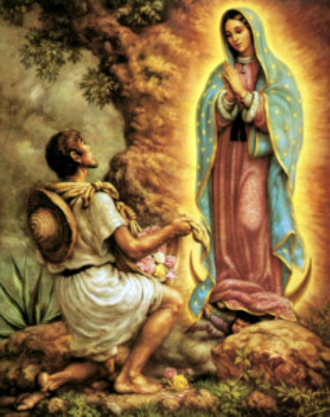 Cozumel History:The Morenita: The Virgin of Guadalupe