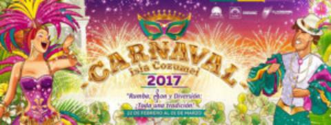Cozumel Carnaval 2017 Dates Announced