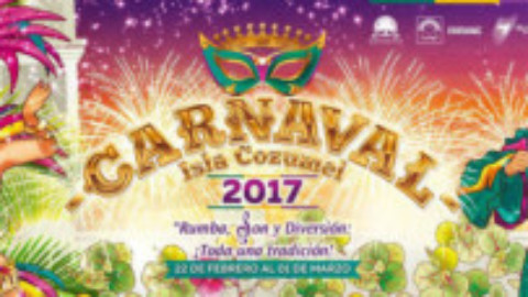 Cozumel Carnaval 2017 Dates Announced