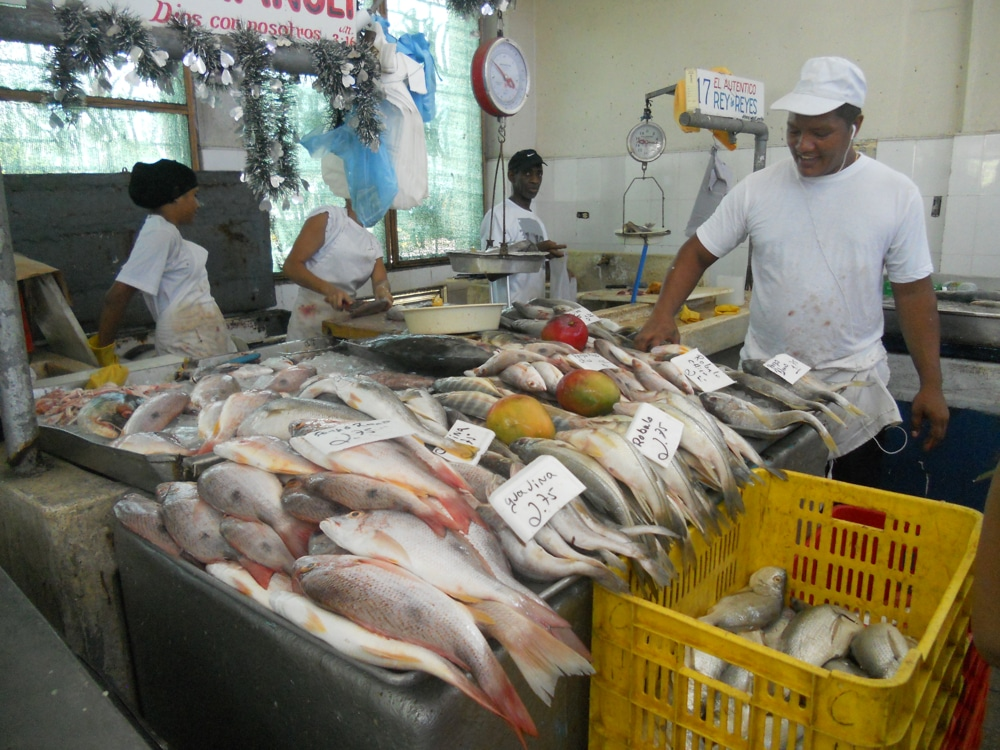 Cozumel seafood lent cozumel 4 you for Seafood fish market