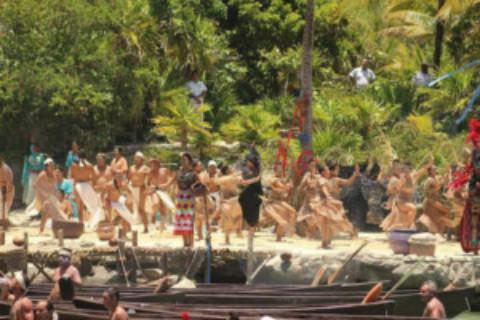 Sacred Mayan Rowing Crossing