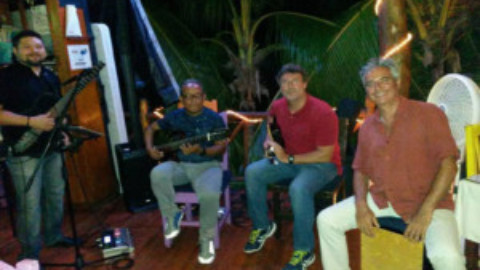 3 Cozumel Guitar Players Fundraiser