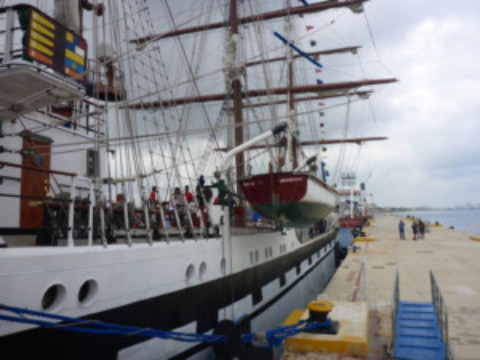 Tall Ship Cozumel
