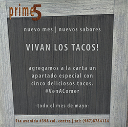 Prime 5 Restaurant Cozumel