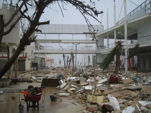 Cozumel Hurricane Wilma 14 Years