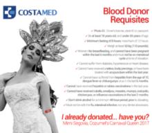 Cozumel Blood Donation Drive