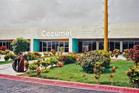 Cozumel Airport Arrivals