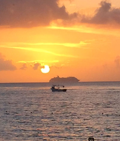 Cozumel Sunset Chuck Gray