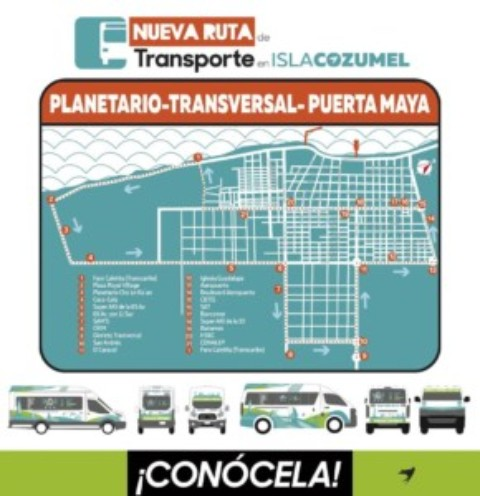 Cozumel Public Transportation