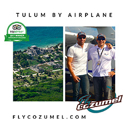 Tulum by Airplane