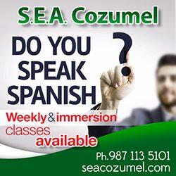 SEA Spanish English Cozumel