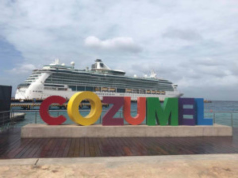 High Season Cozumel Cruise Ship Arrivals