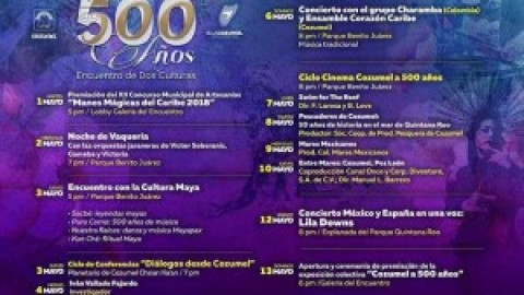 Cozumel May Celebration Activities