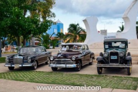 Rally Maya Classic Cars Cozumel