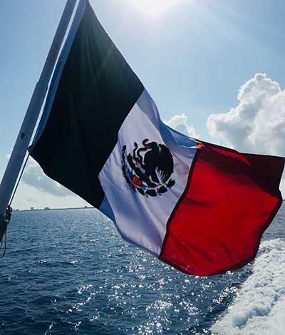 Cozumel Mexico Flag