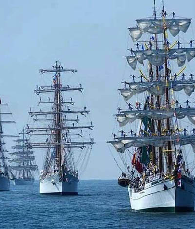 Cozumel Tall Ships