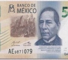 Mexico 500 peso bill