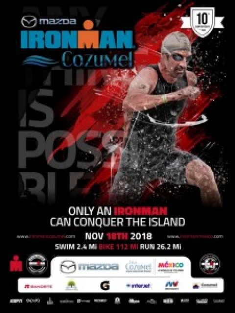 Cozumel's 10th  Ironman  Overview