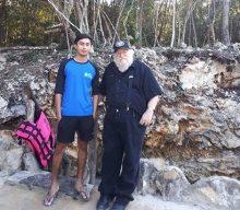 Author George R.R. Martin Visits Quintana Roo