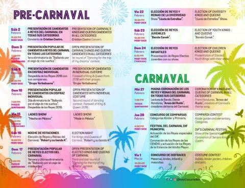 2019 Carnaval Cozumel