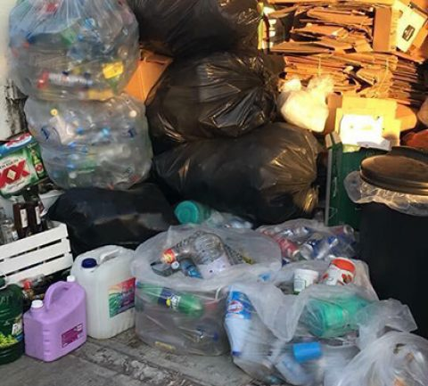 Recycling Trash Cozumel