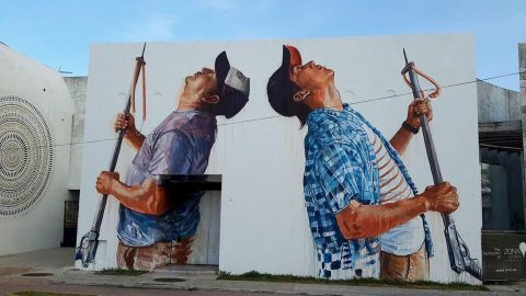 SeaWalls 2:  New Series of Murals Planned for Cozumel