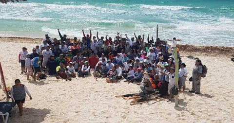 Cozumel Beach Cleanup