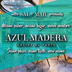 Azul Madera Restaurant Cozumel