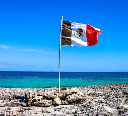 Mexican Flag Fred Boehm