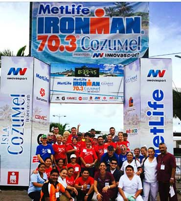 Ironman Volunteers Cozumel