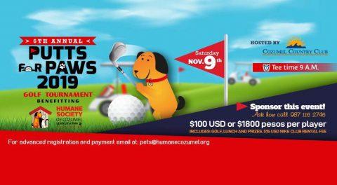 Cozumel Humane Society Golf Tournament