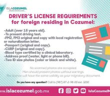 Documents Required Cozumel Drivers License