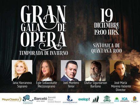 Quintana Roo Symphony Orchestra – Opera Gala 2019