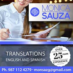 Monica Sauza Translations
