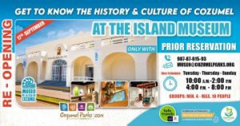 San Gervasio Museum Cozumel Reopen