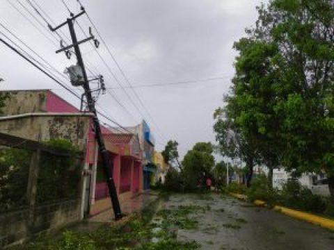 Cozumel Hurricane Zeta