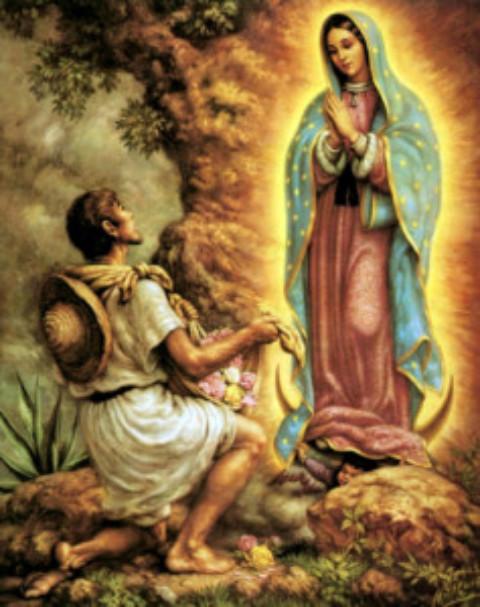 Cozumel History:The Morenita: The Virgin of Guadalupe