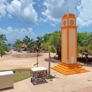 Cozumel Clocktower 111 Years