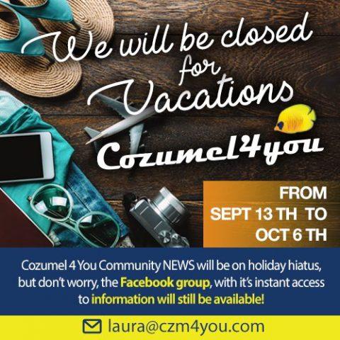 Cozumel September Hiatus