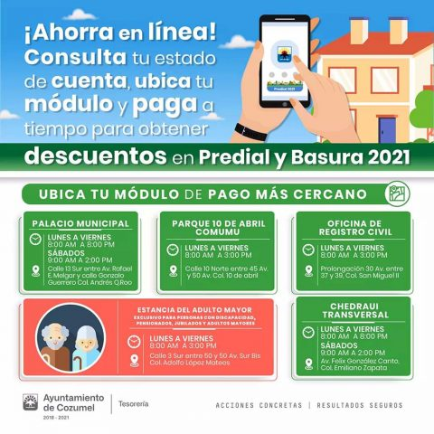 Cozumel Tax Discounts 2021